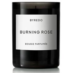 Byredo Burning Rose Candle ($80) ❤ liked on Polyvore featuring home, home decor, candles & candleholders, heart candles, fragrance candles, rose candle, scented candles and byredo