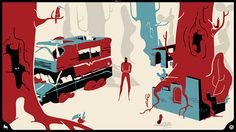 Closer to Nowhere, a beautiful animated and illustrated app that combines music & storytelling. Source: http://www.creativebloq.com/animation/beautiful-illustrations-are-heart-musical-storytelling-app-81412758