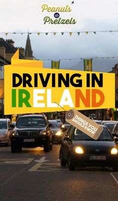 Driving in Ireland is no easy feat. The opposite side of the road, the opposite side of the car, stick shifts.and narrow roads! But it& so worth it! Backpacking Ireland, Ireland Travel Guide, Europe Travel Guide, Travel Guides, Budget Travel, Driving In Ireland, Ireland Destinations, Ireland Weather, Travel Advice