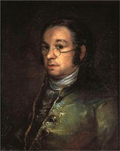 Autorretrato con gafas  - Francisco de Goya