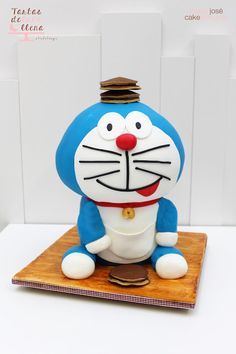 Tartas de luna llena: Tarta Doraemon y la receta de Dorayakis