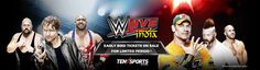 WWE Live in India Book Tickets Online on BookmyShow: Ten Sports WWE India Tour 2015/16 Tickets to be announced: The most shocking yet welcome announcement for WWE fans in India this past week has been in the form of a promo aired on Ten Sports, telling the fans about WWE coming live event in New Delhi. Event Details: Date: 15th and 16th Jan 2016 Friday & Saturday Kick Off time: 7:00 PM & 5:30 PM IST Event Duration: 2 hrs 45 minutes Venue: Indira