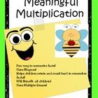 Need a fun way to help your students learn and memorize multiplication facts?  Meaningful Multiplication is a fun way to help all students with the...