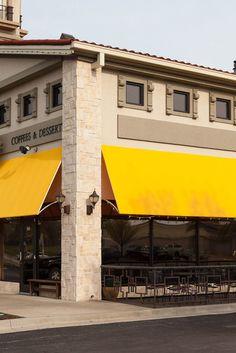 Yellow Storefront Awning