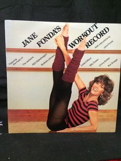 1982 Jane Fonda Workout Record With Illustrations by 2BarnPickers