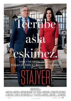 Stajyer - The Intern 2015 afiş