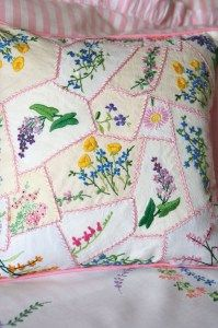 Cath Kidston's Crazy Patch Cushion