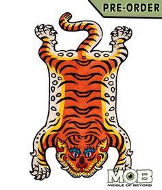 Tibetan Tiger Rug – middleofbeyond