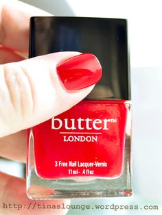 Butter London – Come To Bed Red