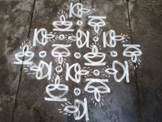 Indian Rangoli Designs, Rangoli Designs Latest, Simple Rangoli Designs Images, Rangoli Border Designs, Rangoli Designs With Dots, Rangoli With Dots, Beautiful Rangoli Designs, Dot Rangoli, Rangoli Borders