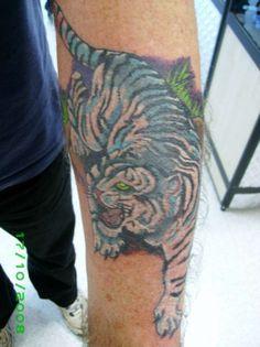 121c715e6 black and white inside arm tiger tattoo | white tiger mens arm White Tiger  Tattoo,