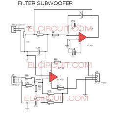 19 best subwoofer images circuit diagram electronics projects rh pinterest com