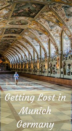 Getting lost in Munich Germany. While Munich may be one of Europe's big cities, you'll find the main area of the city is surprisingly small and easy to navigate. The city is one of the most beloved in all of Europe and despite the turmoil it has seen, it has stood strong as one of Europe's center points for interest and tourism. Click to read more at http://www.divergenttravelers.com/things-to-do-munich-itinerary/