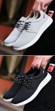 new product 36394 1cd2b Men Mesh Fabric Breathable Light Sport Running Shoes Casual Athletic Shoes  is fashionable and cheap, buy best sneakers for plantar fasciitis for ...