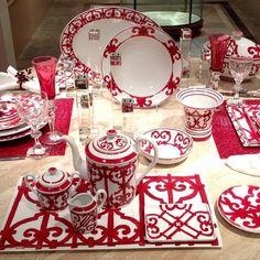 Hermès Porcelaine - 'Balcon De Guadalquivir' Collection