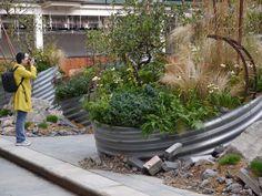 Cityscapes Remix Garden | London UK recycle chelsea garden