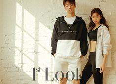 Eunwoo & Doyeon for look magazine April issue. Star Magazine, Look Magazine, Instyle Magazine, Lee Dong Min, Eunwoo Astro, Kim Doyeon, Cha Eun Woo Astro, Model Poses Photography, Black Love Art