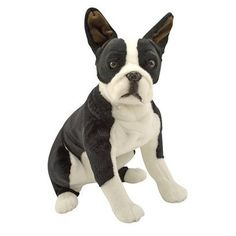Melissa & Doug Plush Boston Terrier/Brant got this for the baby too but...it's mine.  I claim it, sorry kid.