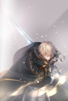gawain and gawain (fate/extra, fate/grand order, and fate (series)) drawn by porigon - Danbooru Fate Characters, Fantasy Characters, Fate Zero, Fate Stay Night, Art Manga, Anime Art, Desu Desu, Fate Servants, Fate Anime Series