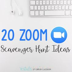 20 Zoom Scavenger Hunt Ideas for Teachers provides examples of math, ELA, and SEL virtual scavenger hunts to use with any video conferencing software.#vestals21stcenturyclassroom #zoomscavengerhunt #zoomscavengerhuntideas #virtualscavengerhunt #virtualscavengerhuntideas #virtualscavengerhuntforstudents #howtodoavirtualscavengerhunt #virtualscavengerhuntideasforkids