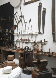 folk about Old tools -★- home -★- decor