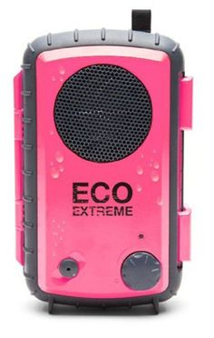 Universal Waterproof Portable Speaker Case Eco Extreme 3.5mm GDI-AQCSE106 Pink #Eco