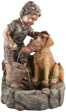 Animal Yard Fountain
