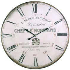 Clock Face Zegary Decoupage