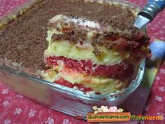 Ricetta zuppa inglese pan di spagna  #ricette #food #recipes