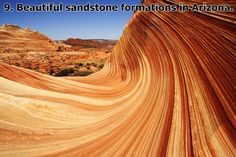 Beautiful sandstone formations in Arizona. The Wave is a sandstone formation on the slopes of the Coyote Buttes in the Paria Canyon-Vermilion Cliffs Wilderness, located in northern portion of the U. state of Arizona. Nature Pictures, Cool Pictures, Pictures Images, Beautiful Pictures, The Wave Arizona, Arizona Usa, Arizona Travel, Beautiful World, Beautiful Places