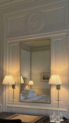 Dream Home Design, Home Interior Design, Aesthetic Room Decor, Dream Apartment, Dream Rooms, My New Room, House Rooms, Bedroom Decor, Design Bedroom