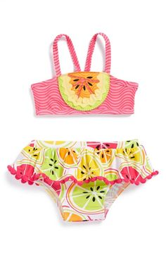 Mud Pie 'Tutti Frutti' Bikini (Baby Girls) available at #Nordstrom