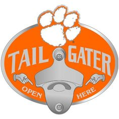 Clemson Tigers NCAA Tailgater Hitch Cover