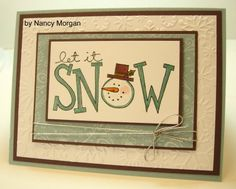 let it snow !  for my BF <3