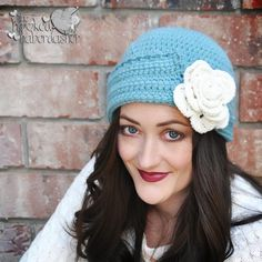 Downton Style Cloche by The Hooked Haberdasher