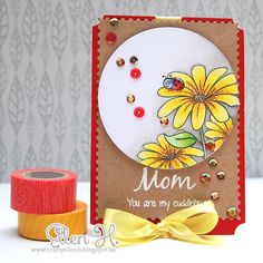 Whimsy Inspirations Blog: Mother's Day Card