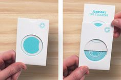 Clean, fresh, new brand identity for the Uk's largest dry cleaning company: Johnsons the Cleaners