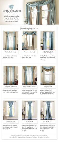 Ideas para la eleccion del tipo de cortinas en el hogar