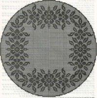 Only Crochet Patterns Part 8 - Beautiful Crochet Patterns and Knitting Patterns Crochet Bedspread Pattern, Crochet Doily Diagram, Filet Crochet Charts, Crochet Doily Patterns, Lace Patterns, Crochet Motif, Crochet Doilies, Crochet Flowers, Crochet Edgings