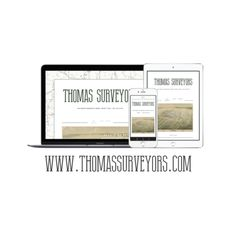 Logo & Website Design for Thomas Surveyors