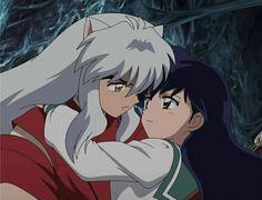 InuYasha and Kagome Higurashi. InuYasha: The Final Act Kagome Higurashi, Kirara, Manga Anime, Anime Art, Me Me Me Anime, Anime Love, Awesome Anime, Chibi, Inu Yasha