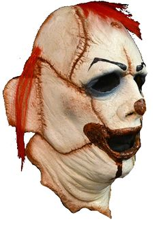 Leatherface Clown horror face mask