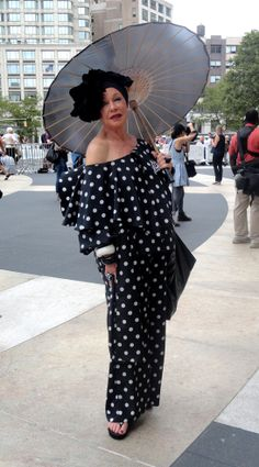 Lynn Dell...style guru and owner of Off Broadway Boutique in NY