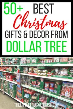 Save money and time this Christmas and start your shopping at Dollar Tree. Shop Dollar Tree Christmas decor, gift items, stocking stuffers, and gift wrap essentials and save a lot of money this Christmas season! Diy Christmas Gifts For Family, Easy Christmas Decorations, Dollar Tree Christmas, Christmas On A Budget, Easy Christmas Crafts, Handmade Christmas Gifts, Homemade Christmas, White Christmas, Holiday Money