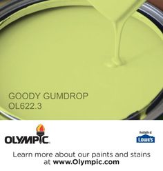 GOODY GUMDROP OL622.3 is a part of the greens collection by Olympic® Paint.