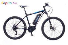 """Kiváló minőségű Neuzer E-650B férfi elektromos kerékpár, mely tökéletes választásként bizonyosul az év bármely szakaszában!    Jellemzői:  - Kerékméret: 27,5""""  - Vázméret: 19""""  - Váz: AL6061 alu nagy teherbírása  - Villa: Suntour XCM-DS 27,5""""  - Első fék: Zoom HB-870 160MM Hidraulikus tárcsa  - Hátsó fék: Zoom HB-870 160MM Hidraulikus tárcsa  - Hajtómű: Alu 170 MM 38T  - Hátsó váltó: Shimano Alivio 9 SPD (9 sebesség)  - Váltókar: Shimano Alivio 9 SPD (9 sebesség)  - Első agy: Joytech Alu 32H… Bicycle, Bicycle Kick, Bike, Trial Bike, Bicycles"""