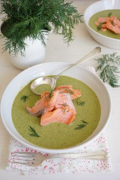 Wild Sockeye Salmon with Spinach and Dill Cream