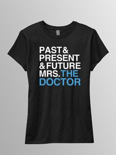 Future Mrs The Doctor Ladies Tee