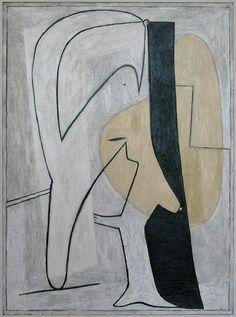 """Pablo Picasso - """"Figure"""". 1927"""