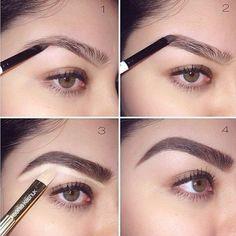 Aprende las diferentes técnicas para delinear tus cejas como una profesional. | delineado de cejas paso a paso maquillaje | delineado de cejas con lapiz | #cejas